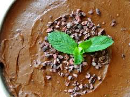 Raw Vegan Cacao Coconut Mousse